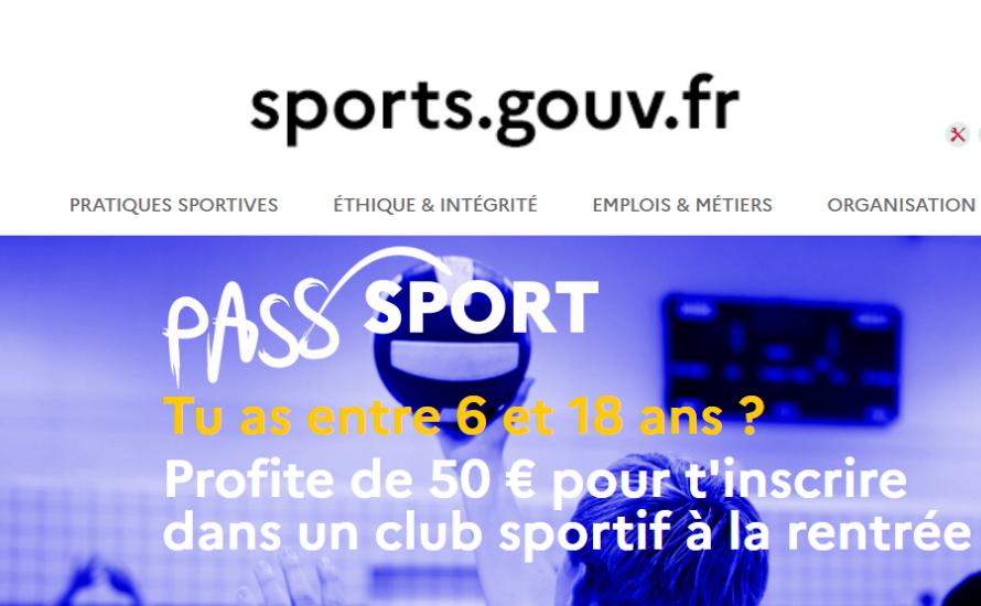 Le club a adhéré au Pass'Sport !